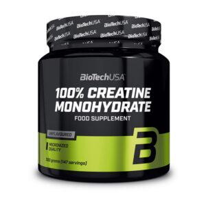 Купить100% Creatine Monohydrate (банка) (500 гр) от BioTech USA.