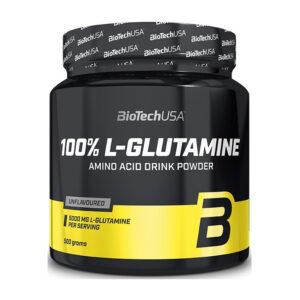 Купить глютамин 100% L-Glutamine (500 гр) от BioTech USA.