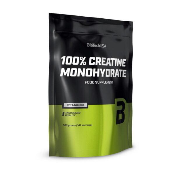 Купить100% Creatine Monohydrate (пакет) (500 гр) от BioTech USA.