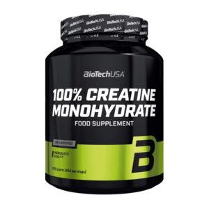 Купить креатин 100% Creatine Monohydrate (1 кг) от BioTech USA.