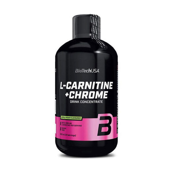 КупитьL-Carnitine 35 000 + Chrome (500 мл) от BioTech USA.