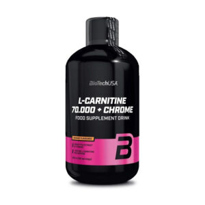 КупитьL-Carnitine 70 000 + Chrome (500 мл) от BioTech USA.