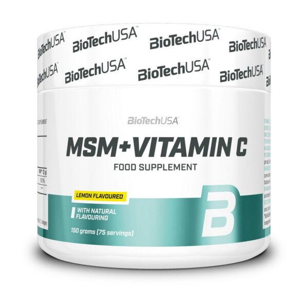 Купить MSM + Vitamin C (150 гр) от BioTech USA
