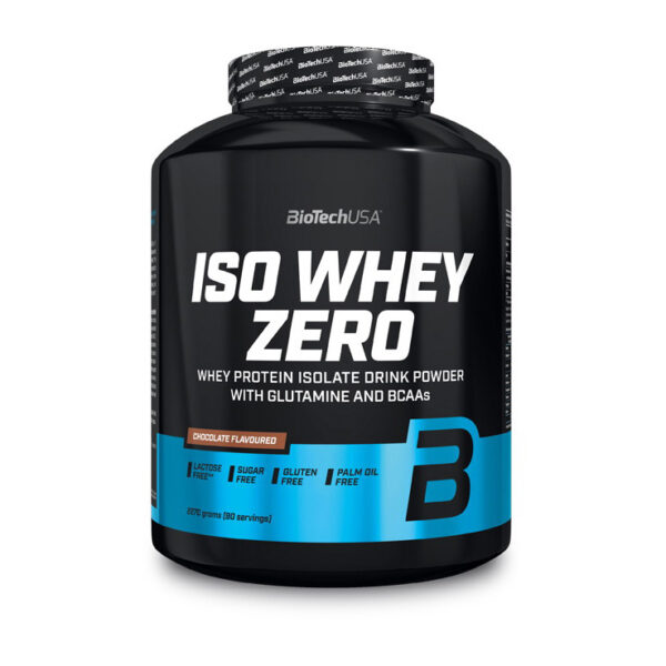 КупитьIso Whey Zero (2,27 кг) от BioTech USA.