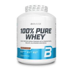 Купить100% Pure Whey (2,27 кг) от BioTech USA.