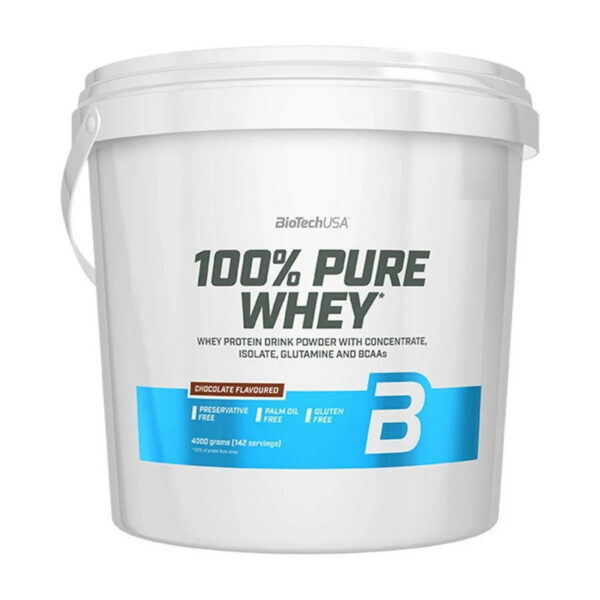 Купить100% Pure Whey (4 кг) от BioTech USA.