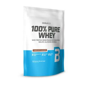 Купить100% Pure Whey (1 кг) от BioTech USA.