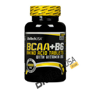Купить BCAA+B6(100 таблеток) Biotech USA.