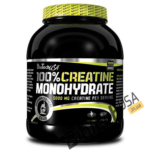 Купить100% Creatine Monohydrate (1 кг) от BioTech USA.