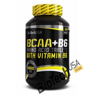 КупитьBCAA + B6 (200 таблеток) отBioTech USA.