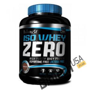 Купить Iso Whey Zero lactose free (2,27 кг) от BioTech USA.