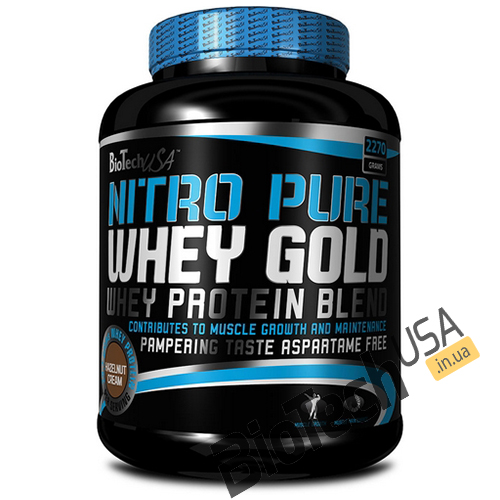 КупитьNitro Pure Whey (2,27 кг) от BioTech USA.