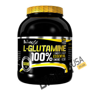 Купить100% L-Glutamine (240 гр) от BioTech USA.
