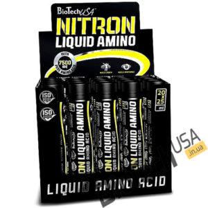 КупитьNitron Liquid Amino (20 x 25 мл) от BioTech USA.