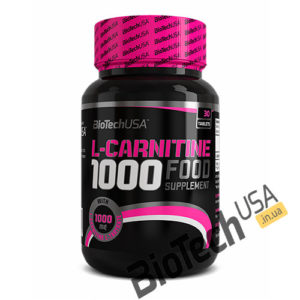 КупитьL-Carnitine 1000 (30 таблеток) от BioTech USA.
