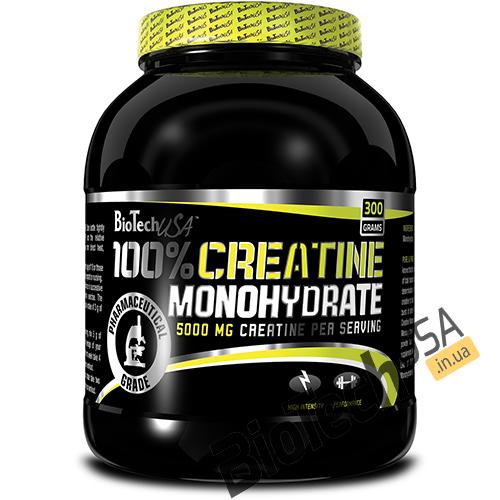 Купить100% Creatine Monohydrate (300 гр) от BioTech USA.