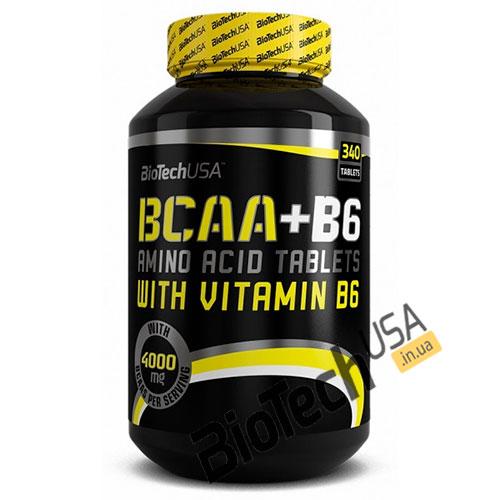 Купить BCAA+B6 (340 таблеток) Biotech USA.