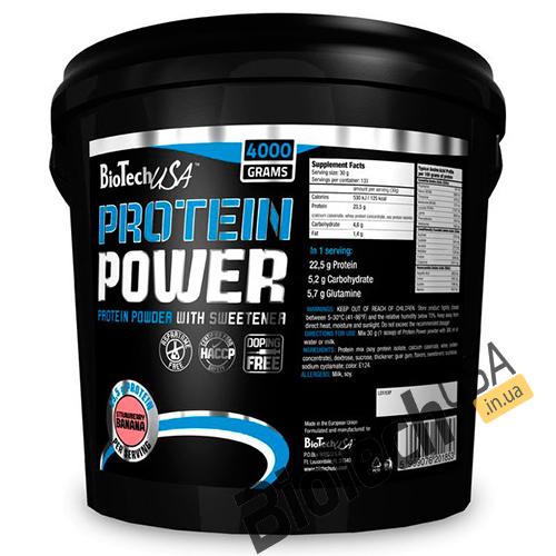 КупитьProtein Power (4 кг) от BioTech USA.