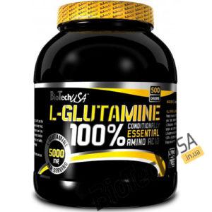 Купить100% L-Glutamine (500 гр) от BioTech USA.