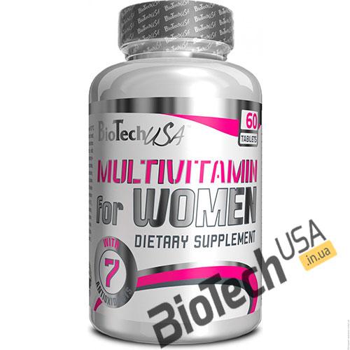 КупитьMultivitamin for Women (60 таблеток) от BioTech USA.