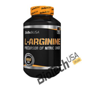 КупитьL-Arginine Mega Caps (90 капсул) от BioTech USA.