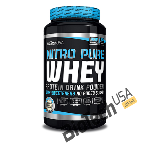КупитьNitro Pure Whey (908 гр) от BioTech USA.