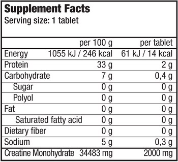 КупитьEffervescent Creatine (16 таблеток) от BioTech USA.