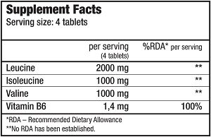КупитьBCAA + B6 (200 таблеток) отBioTech USA