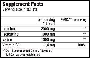 Купить BCAA+B6 (340 таблеток) Biotech USA
