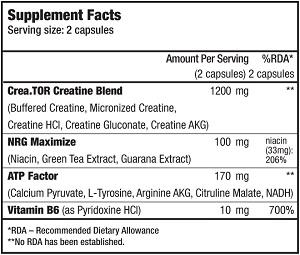 КупитьCrea Tor (120 капсул) от BioTech USA.