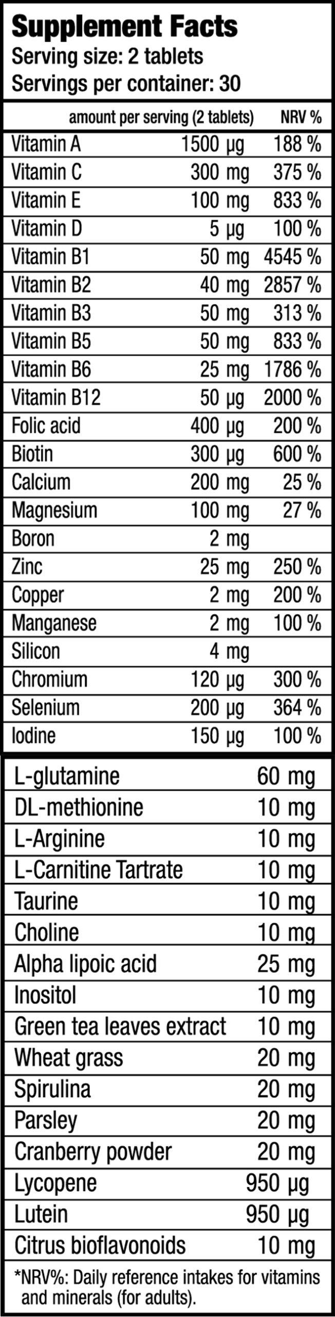 КупитьMultivitamin for men Men`s Perfomance (60 таблеток) от BioTech USA.