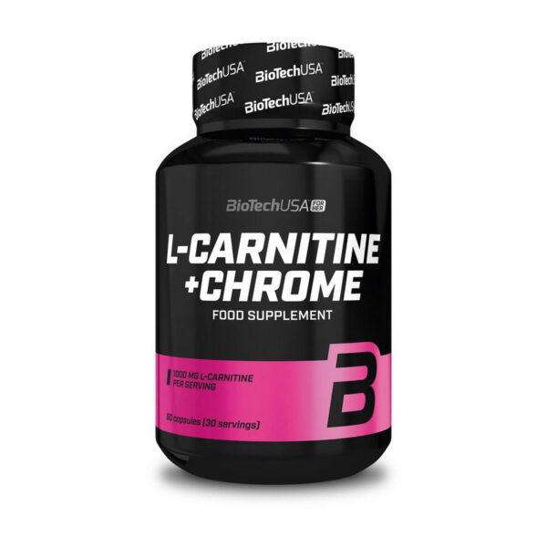 КупитьL-Carnitine + Chrome (60 капсул) от BioTech USA