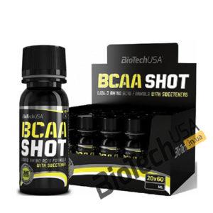 КупитьBCAA Shot zero carb (20*60 мл) от BioTech USA.