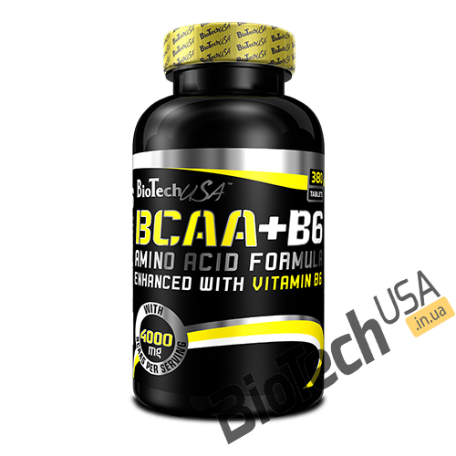 Купить BCAA+B6 (340 таблеток) от Biotech USA.