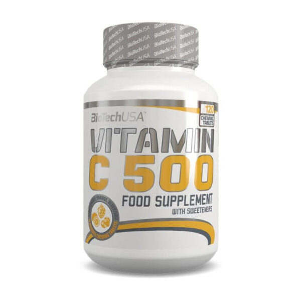 КупитьVitamin C 500 (120 капсул) от Biotech USA.