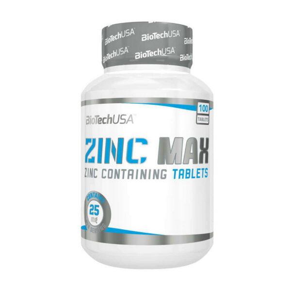 КупитьZinc MAX (100 таблеток) от Biotech USA.