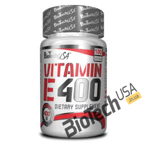 Купить Vitamin E 400 (100 таблеток) от Biotech USA.