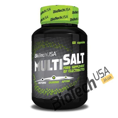 Купить Multi Salt (60 капсул) от Biotech USA.