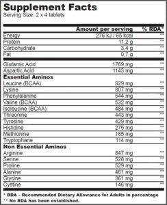 Купить3P Amino Matrix (240 таблеток) от BioTech USA.