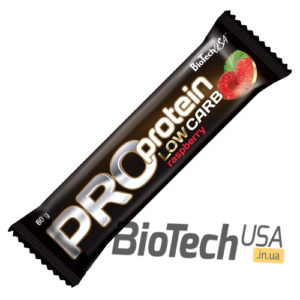 Купить батончик Pro Protein Low Carb Bar (80 гр) от Biotech USA.