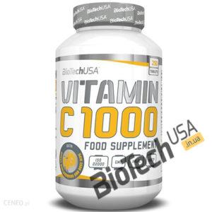 Купить Vitamin С 1000 (250 таблеток) от Biotech USA.