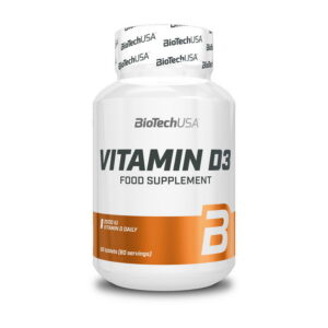 КупитьVitamin D3 (60 таблеток) от Biotech USA