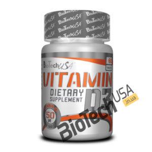 Купить Vitamin D3 (60 таблеток) от Biotech USA