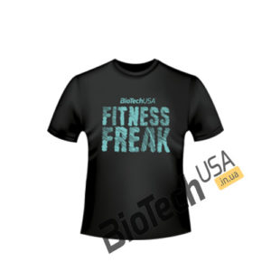 "Купить T-Shirt ""Fitness Freak"" от BioTechUSA"