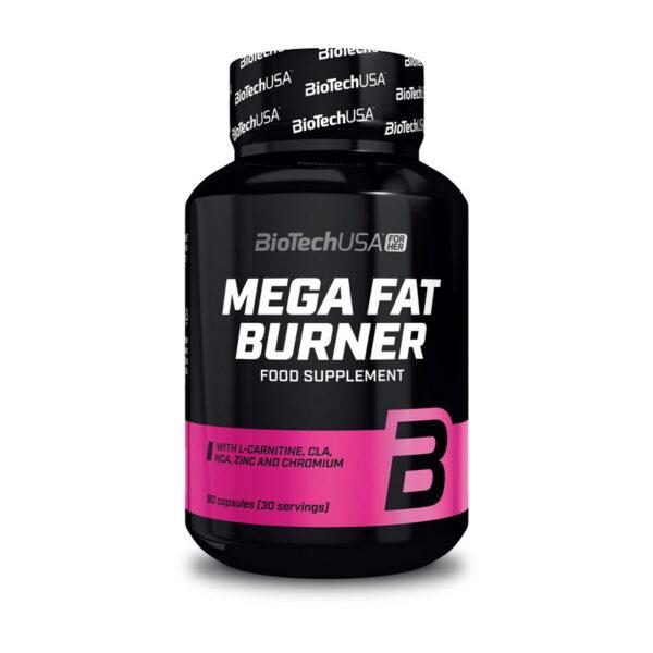 Купить жиросжигатель Mega Fat Burner (90 капсул) от BiotechUSA