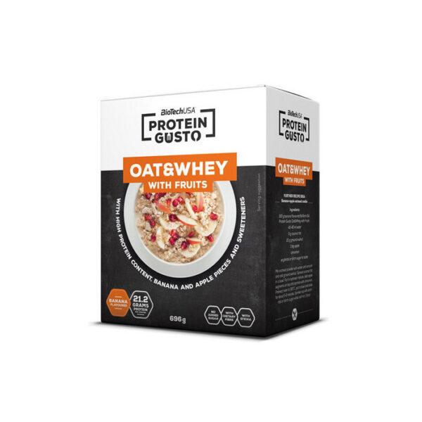 Купить заменитель питания Protein Gusto Oat & Whey (696 гр) от BiotechUSA