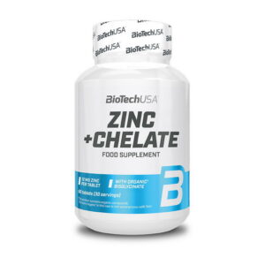 Купить витамины Zinc + Chelate (60 таблеток) от BiotechUSA