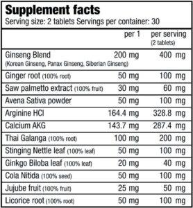 SX Power (60 таблеток)