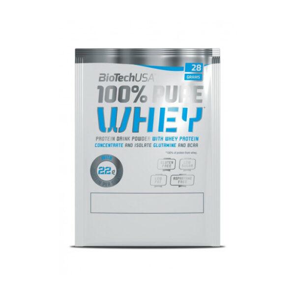Купить 100% Pure Whey (28 гр) от BiotechUSA