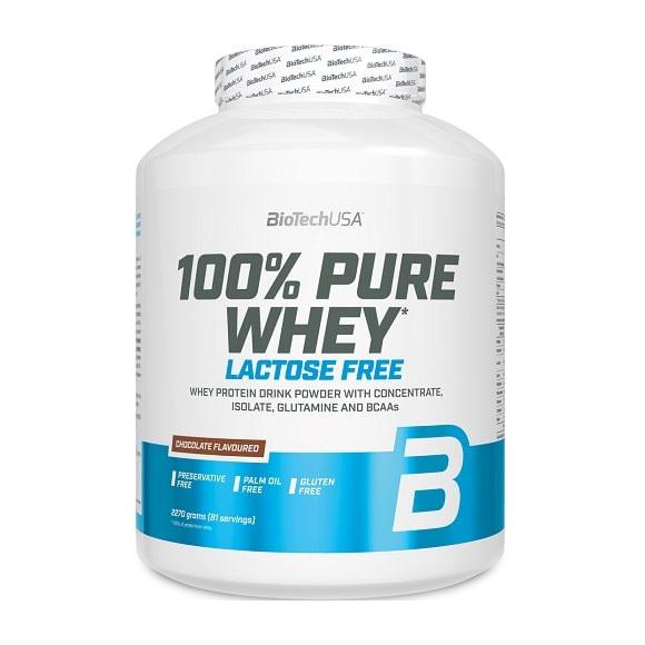 Купить 100% Pure Whey Lactose Free (2,27 кг) от BiotechUSA
